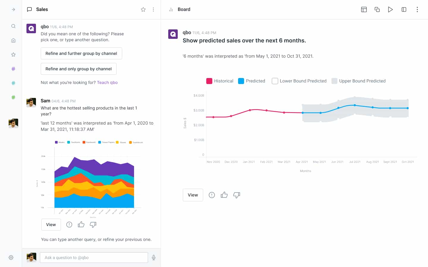 Data Insights with QBO